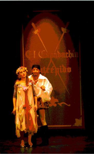 1998 El fantasma del teatro (Trilogía para niños y niñas)