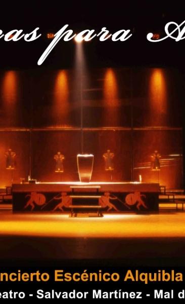 2009 Músicas para Alquibla. Concierto escénico